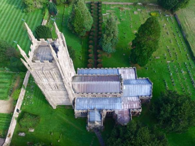 Mells Church Roof Repairs