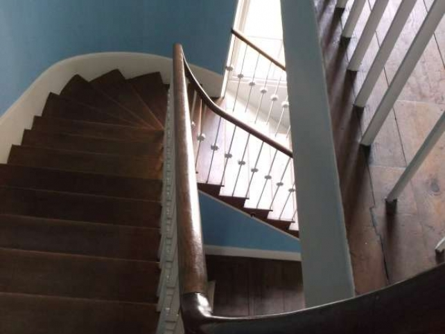 new staircase in the restoration of St Giles House by Ellis and Co