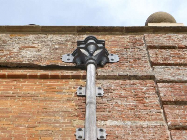 guttering and rainwater goods at St Giles House
