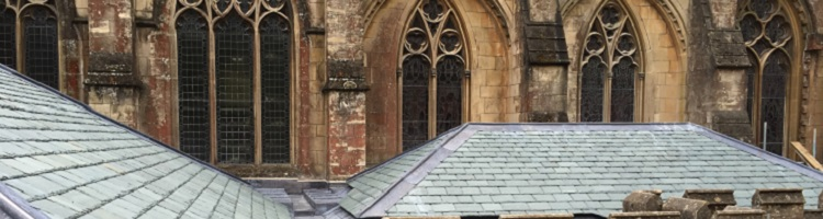 Downside Abbey Tiles Roof