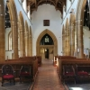 Internal reordering Building works St Marys Church Bridgwater