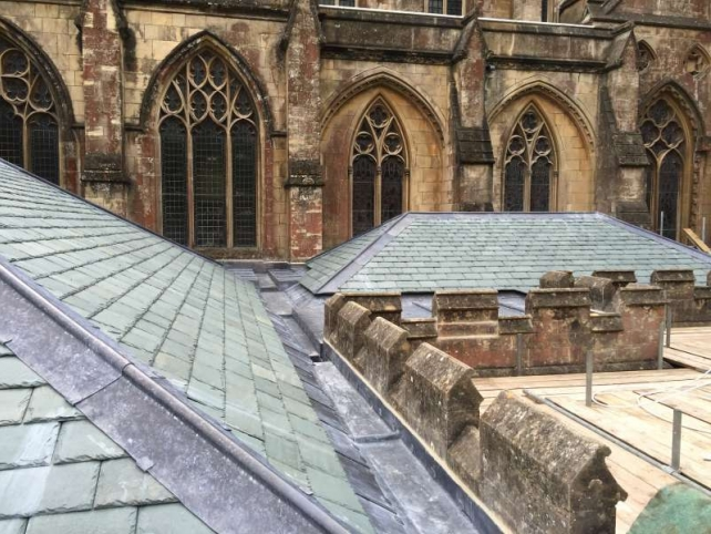 Downside Abbey Tiles Roofs