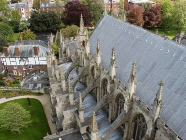 Exeter Cathedral Roofs