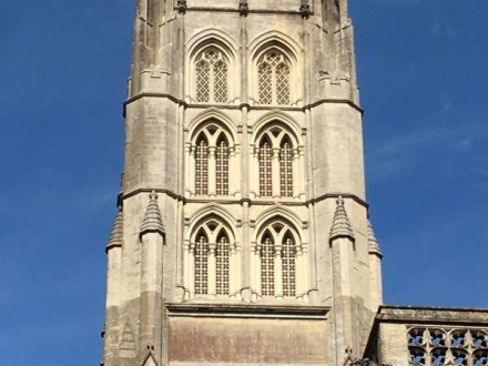 Downside Abbey Tower, Somerset
