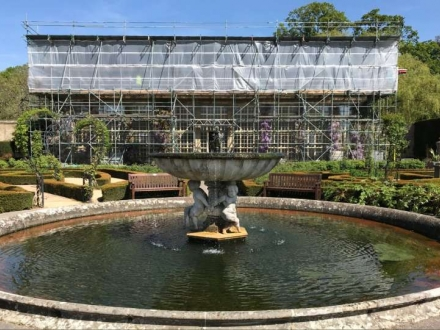 Longleat Orangery - Roof and Masonry Repair