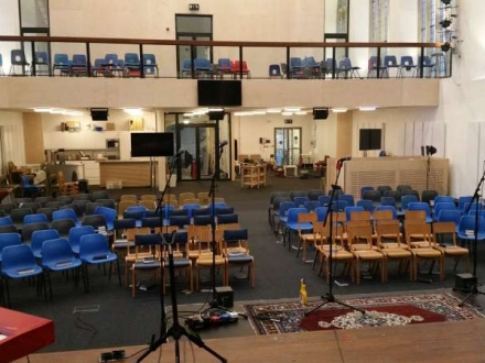 Redecoration of St Nics Bristol